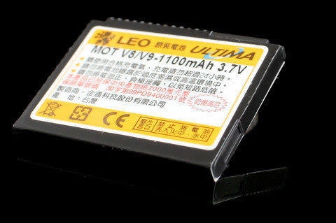 CALLS/其他廠牌 防爆高容量 手機電池 1100mah MOTOROLA V8/V9/U9/ZN5
