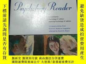 二手書博民逛書店Psychology罕見Reader to accompany: Psy,6th edition Explorin