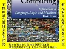二手書博民逛書店Introduction罕見To ComputingY364682 David Evans Createspa