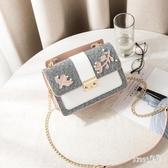 手提包包女士2019上新款潮韓版百搭鏈條單肩斜挎包時尚 LR9779【Sweet家居】