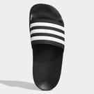 ADIDAS ADILETTE SHOWER 童鞋 中童 拖鞋 休閒 防水 黑【運動世界】G27625