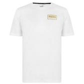 PUMA HOLIDAY 男款白色短袖上衣-NO.58176302