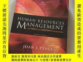 二手書博民逛書店Human罕見Resources Management For Public And Nonprofit Orga