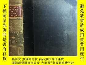 二手書博民逛書店英文古董書罕見1901年Chambers s Cyclopaedia of English Literature
