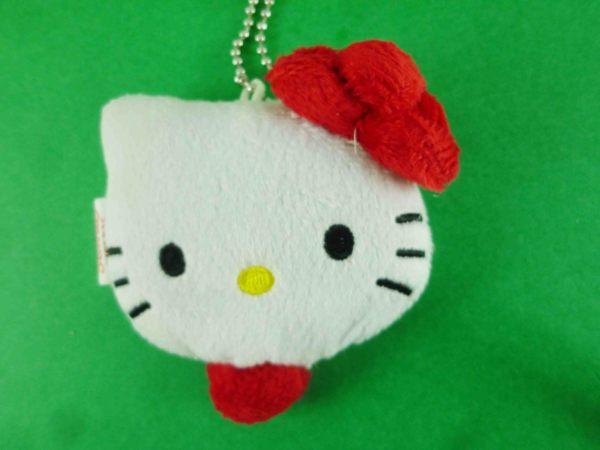 【震撼精品百貨】Hello Kitty 凱蒂貓~造型絨毛捲尺-大頭造型