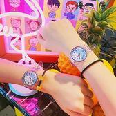 可愛創意休閒男女軟妹趣味透明手錶腕錶Y-2831優一居