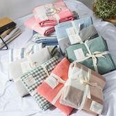 日式良品水洗棉被套單件 針織全棉單雙人