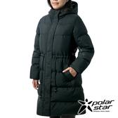 PolarStar 女 長版羽絨外套『黑』P19206 戶外.休閒.旅行.保暖.禦寒.防風.保暖外套.出國旅遊