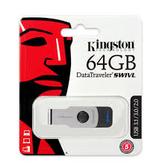 金士頓 最新 DTSWIVL USB3.0 64G 旋轉隨身碟 (公司貨 高速 旋轉碟 隨身碟 USB3.1)