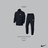 IMPACT NIKE WOVEN BASIC TRACKSUIT 外套+長褲 套裝 黑 男女可穿 運動 百搭 861779-010