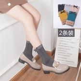 亮絲堆堆襪中筒襪子天鵝絨可愛蝴蝶結絲襪豎條閃光性感短襪女