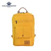 【COLORSMITH】RB.小型方形後背包-黃色.RB1385-YL-S