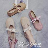娃娃鞋 女韓版百搭平底圓頭娃娃軟妹可愛日繫學生 coco衣巷