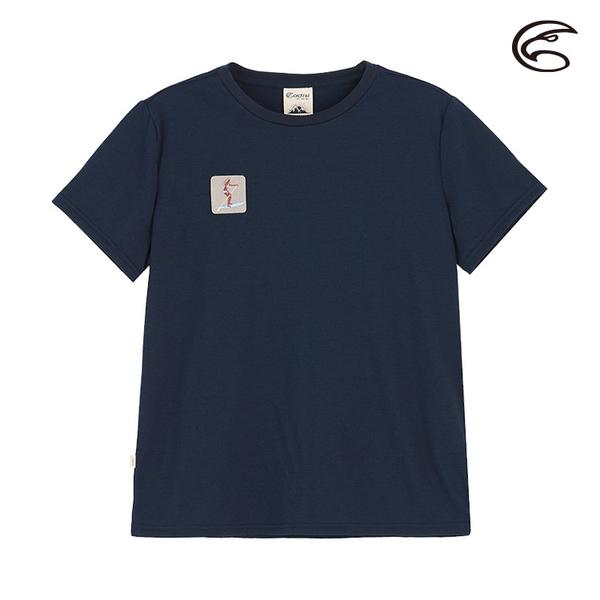 ADISI 女COOL鈦棉感快乾圓領T AL2011064 (M-2XL) / 城市綠洲 (抗UV、涼感、輕量柔軟、吸濕排汗)