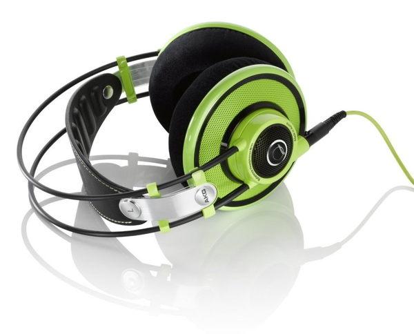 【海恩數位】AKG Q701 耳罩式旗艦級耳機 麥可傑克遜金牌製作人昆西瓊斯強力背書 綠色