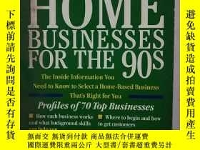 二手書博民逛書店THE罕見BEST HOME BUSINESSES FOR TH