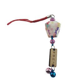 【收藏天地】台灣紀念品*祈福小天燈夜光型吊飾