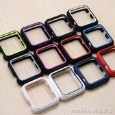 iwatch3保護套apple watch2錶殼運動錶帶蘋果手錶全包防摔軟硅膠 美芭