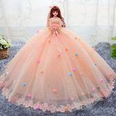新品婚紗芭比娃娃套裝女孩公主超大90釐米超大仿真玩具洋生日禮物xw 全館85折