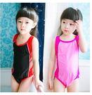 新款大小兒童連體泳衣LVV414【kikikoko】