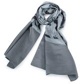 ARMANI COLLEZIONI 大字母LOGO圍巾(灰色)102800