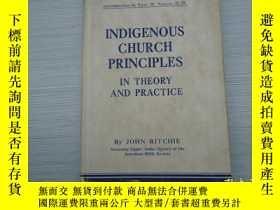 二手書博民逛書店INDIGENOUS罕見CHURCH PRINCIPLES IN