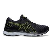 Asics Gel-nimbus 22 [1011A680-026] 男鞋 慢跑 運動 休閒 輕量 緩震 灰 螢黃