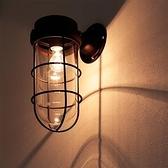 [BARCO Z]仿古Z型玻璃壁燈~TML愛媛家居復古黑