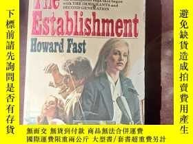 二手書博民逛書店THE罕見ESTABLISHMENT英文原版Y166423 Howard Fast A DELL BOOK