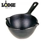 丹大戶外用品【LODGE 】Melting Pot 14oz 5.5吋奶油鑄鐵熔鍋/迷你荷蘭鍋/小圓鍋/釋放鐵離子/深鍋 LMP3
