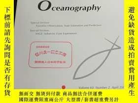 二手書博民逛書店Journal罕見of Oceanography Special Section: Kuroshio Obser