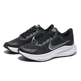 NIKE 慢跑鞋 WMNS ZOOM WINFLO 8 輕量 避震 黑白 慢跑 女(布魯克林) CW3421-005