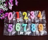 生日蠟燭創意兒童生日蠟燭蛋糕無煙數字字母蠟燭派對裝飾布置用品