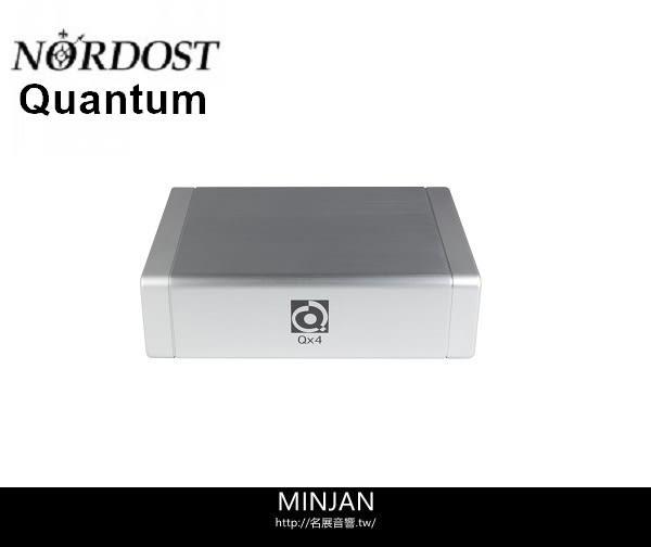 【名展音響】Nordost Quantum QX4 4QRT量子共振電源淨化器