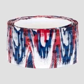 「野球魂中壢店」--「Lizard Skins」蜥蜴皮球棒握把布(寶藍×紅×白,厚度=1.1mm)