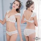 蕾絲內衣~Annabery天使之戀!法式無襯鋼圈成套內衣褲  爆款《SV6570》快樂生活網