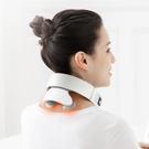 多功能充電四頭智能頸椎按摩器語音遙控護頸...