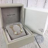 BRAND楓月 Van Cleef & Arpels VCA 梵克雅寶 珍珠母貝 10片 幸運草 項鍊 飾品