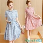 棉麻連身裙洋裝夏2020新款仙女嬌小個子亞麻棉綢短款矮顯高搭配150cm OO12008『科炫3C』