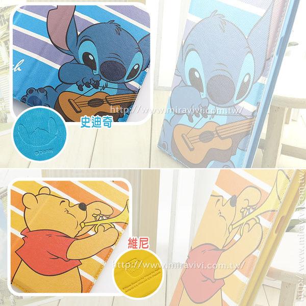 【Disney 】Samsung Galaxy A8 音樂人物隱磁側掀皮套