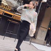 套裝 秋冬俏皮毛衣裙子兩件式赫本風女神范套裝裙 糖果時尚
