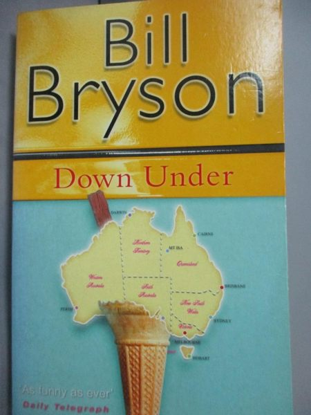 【書寶二手書T2/原文小說_LEB】Down Under_Bill Bryson