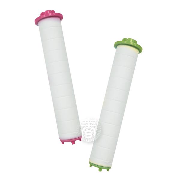 QSPA大面積Q型可止水增壓細水蓮蓬頭-專用亞硫酸鈣PP棉濾芯(3入顏色隨機) 除氯濾心 過濾芯