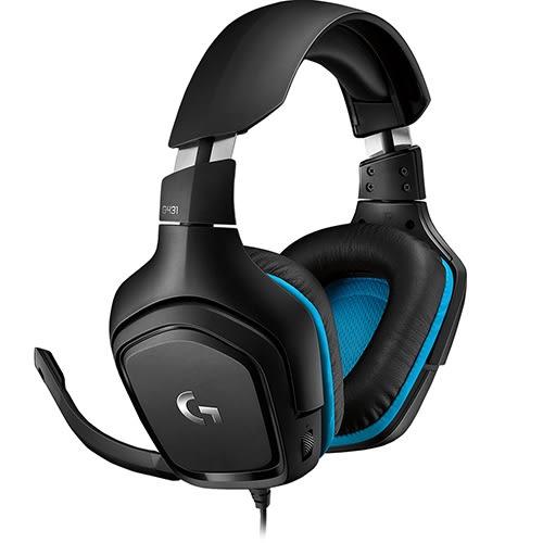 Logitech 羅技 G431 7.1 聲道環繞音效遊戲耳機麥克風