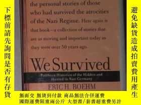 二手書博民逛書店英文原版罕見We Survived:Fourteen Histo
