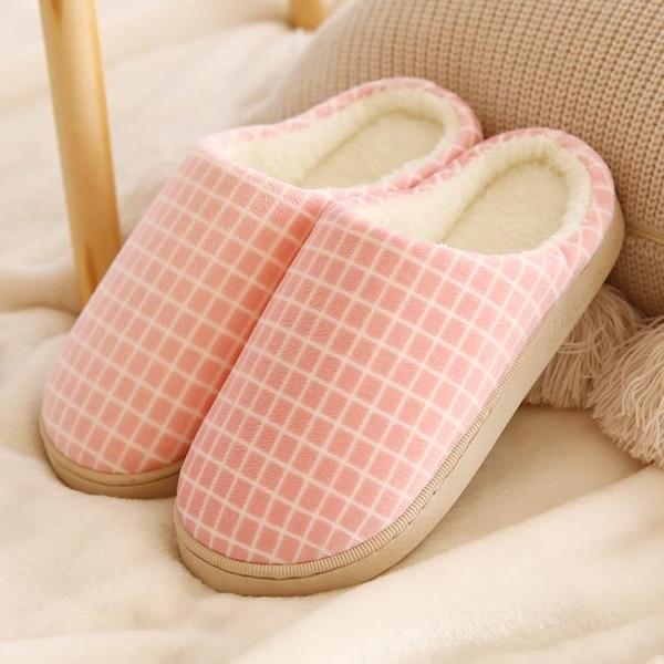 新款毛毛絨情侶棉拖鞋拖鞋家用女士秋冬室內防滑宿舍室內棉拖