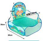 可折疊海洋球池 室內玩具兒童游戲屋寶寶嬰兒波波池小孩游戲帳篷gogo購