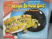 【書寶二手書T1/少年童書_PIT】The Magic School Bus Explores the Senses_Cole