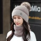 帽子女秋冬天加絨毛線帽加厚潮騎行電動車防寒冬季保暖女士針織帽 3C數位百貨