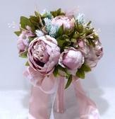 森系新娘手捧花